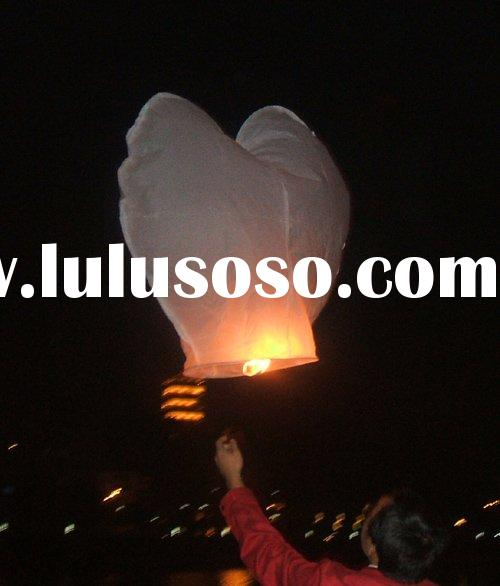 heart sky lantern, wedding lantern, wish lantern