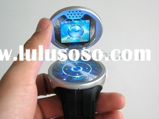 high quality Quad-band flip watch mobile phone with camera G104