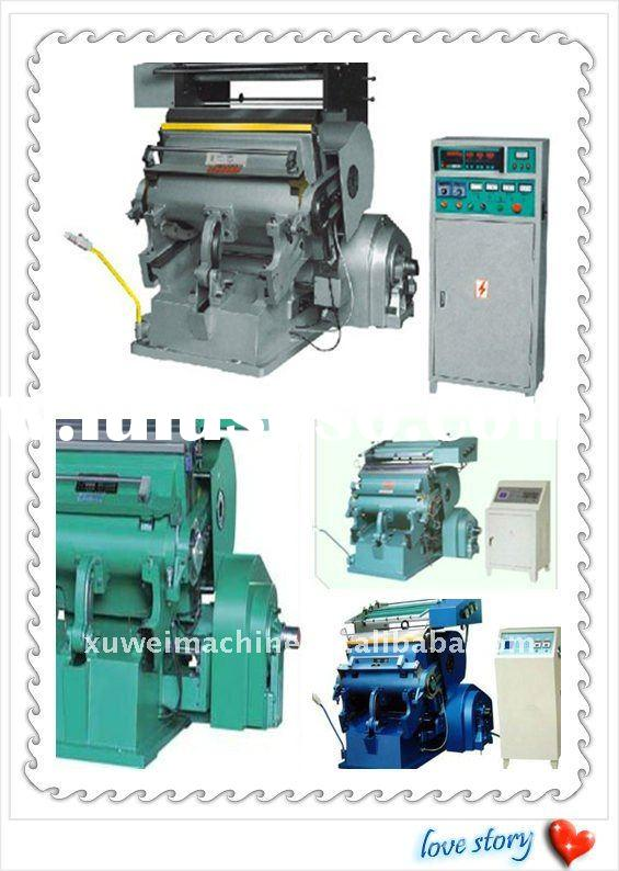 high quality hot press printing machine for name card