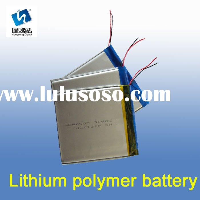 high rate discharge lithium polymer battery pack for RC Plane/Airplane module