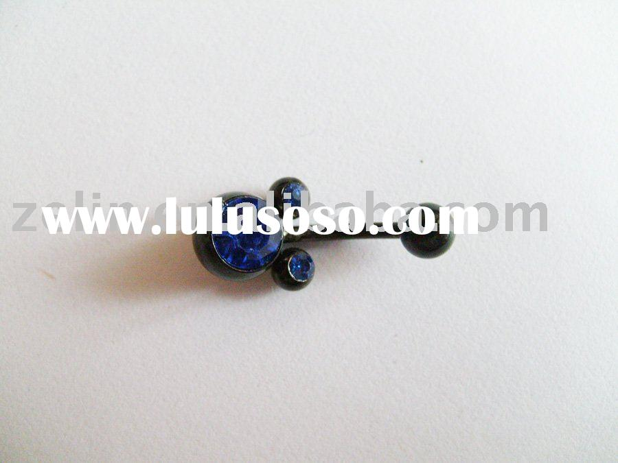 hot sale stainless steel fashion navel jewelry