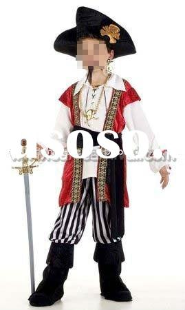 kids pirate costume/halloween costumes for kid/party fancy dress