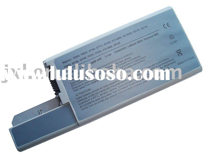 laptop battery replacement for Dell Latitude D530 battery D531 D820 D830 battery CF623 CF623 CF632 Y
