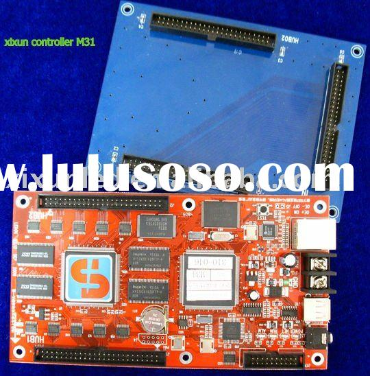 led controller board for full color led display and supports real virtual pixels, display video and