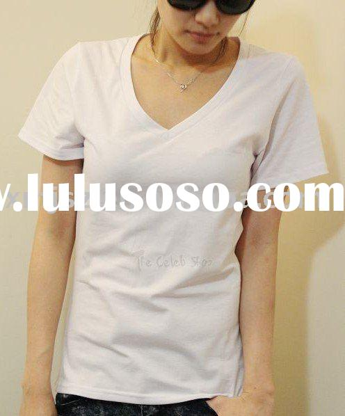 low price! white 100% cotton t shirts