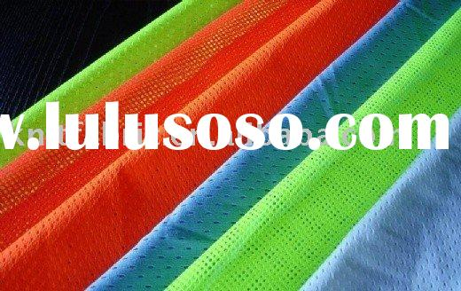 mesh fabric/100%polyester/dyeing/garment fabric/fluorescent/flame retardent