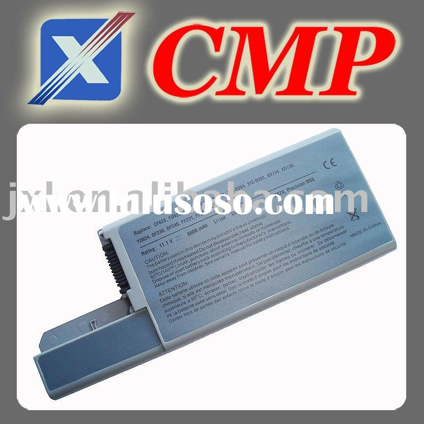 oem notebook battery/replacement battery for Dell Latitude D530 battery D531 D820 D830 CF623 CF623 C