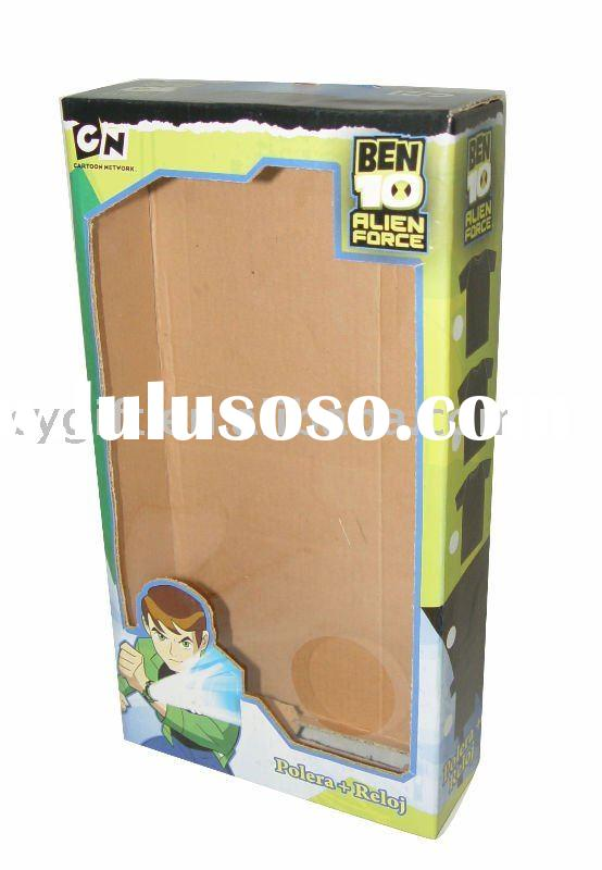 paper display box for toy and gift