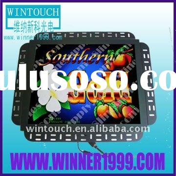 pen frame IR touch screen lcd monitor POG / WMS gaming machine touch monitor, Game Kits Touch Soluti