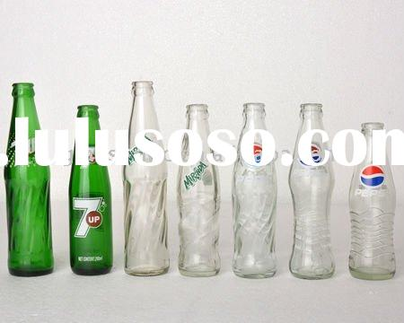 pepsico soft drink glass bottle