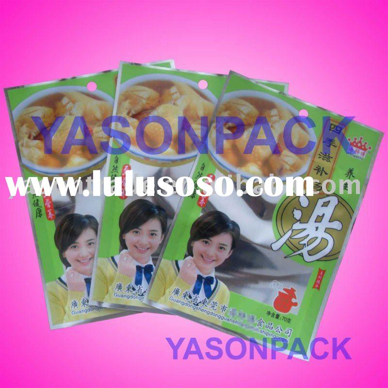 plastic food bags for spice packing