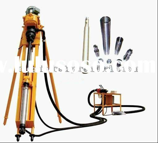 portable Rock borehole Drilling Machine & Hammer with air compressor