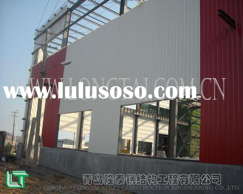 prefabricated steel structure building/warehouse/workshop