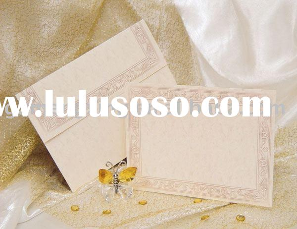 pretty chic special paper wedding invitation cards wedding decorations