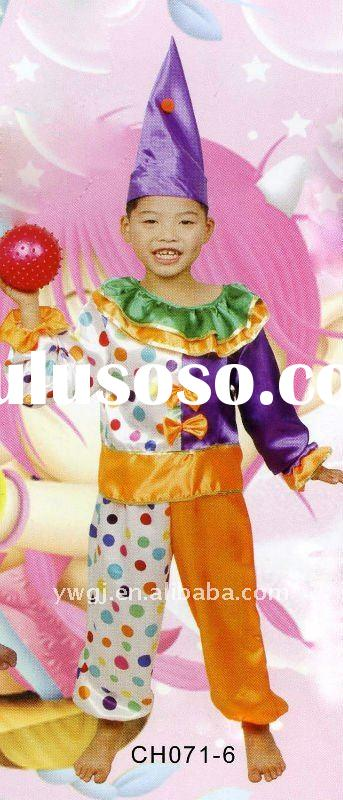 professional clown costumes little clown costume clown dress clown apparel unique clown kids clown c