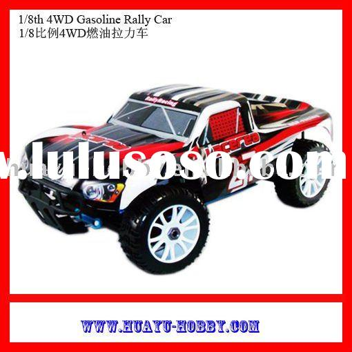 remote control hot selling Gasoline Rally 4x4 Car RTR 1/8th 4WD Gasoline Rally Car r/c car model r/c