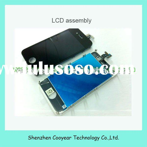 repair parts original new mobile phone lcd touch screen for iphone 4s black paypal is accepted