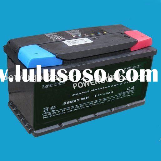 sealed Maintenance Free car battery 58827-MF