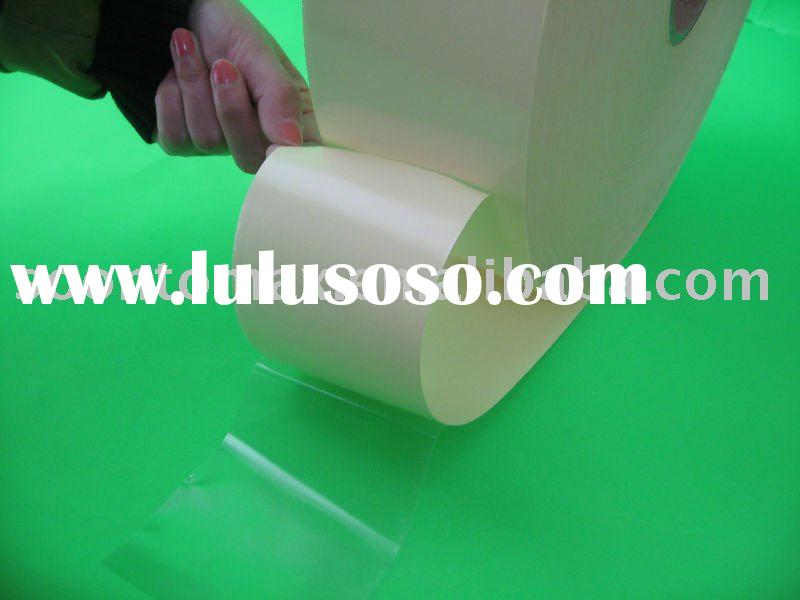 self adhesive vinyl waterproof sticker clear rigid pvc in printing