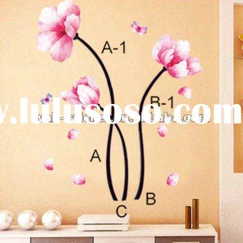Small flower wall decals