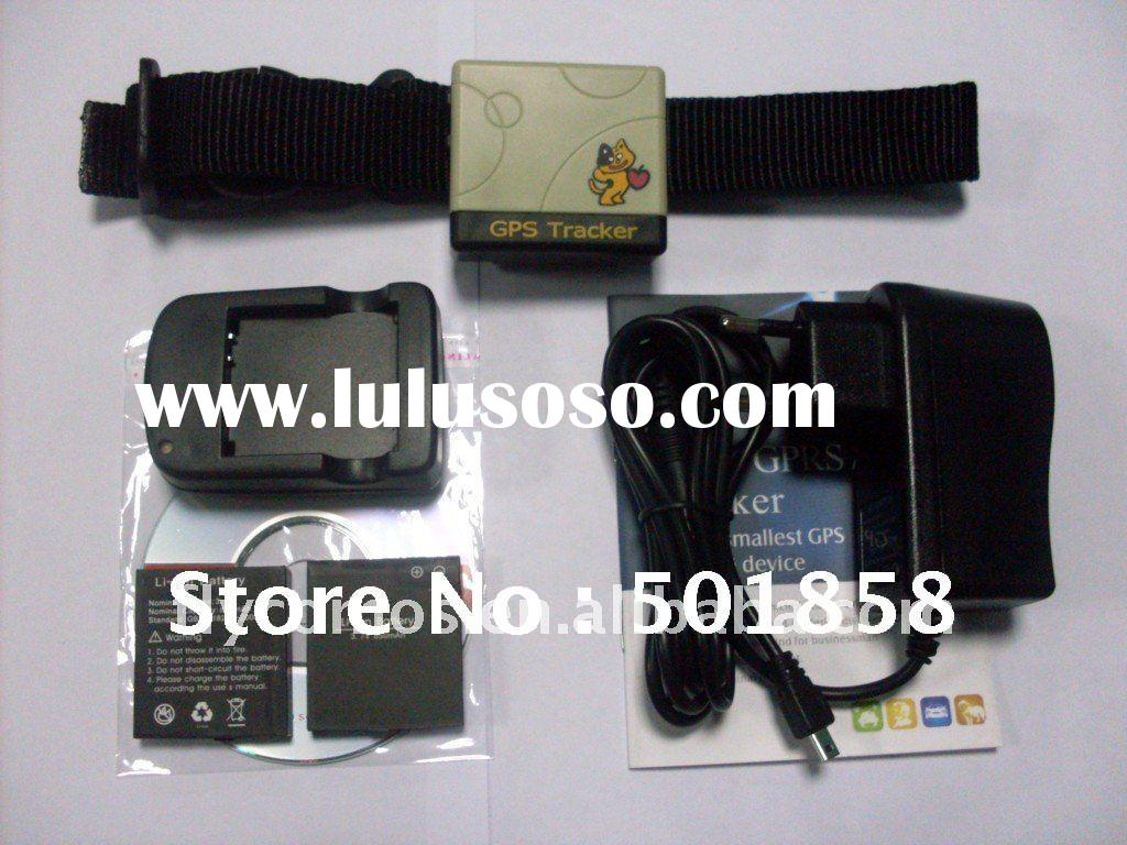 small gps tracking device with collar for pet and children