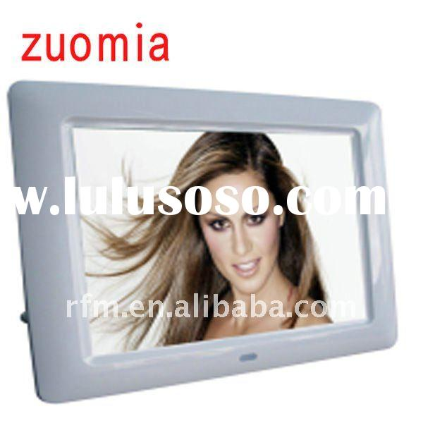 smart battery powered digital photo frame