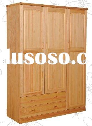 solid pine wood wardrobe furniture