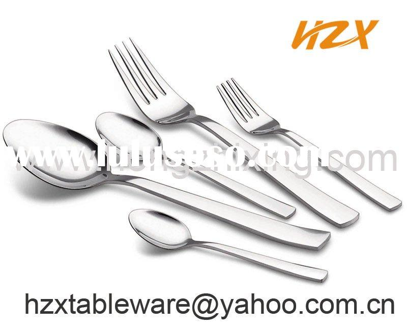 stainless steel hotel cutlery sery, high-quality flatware
