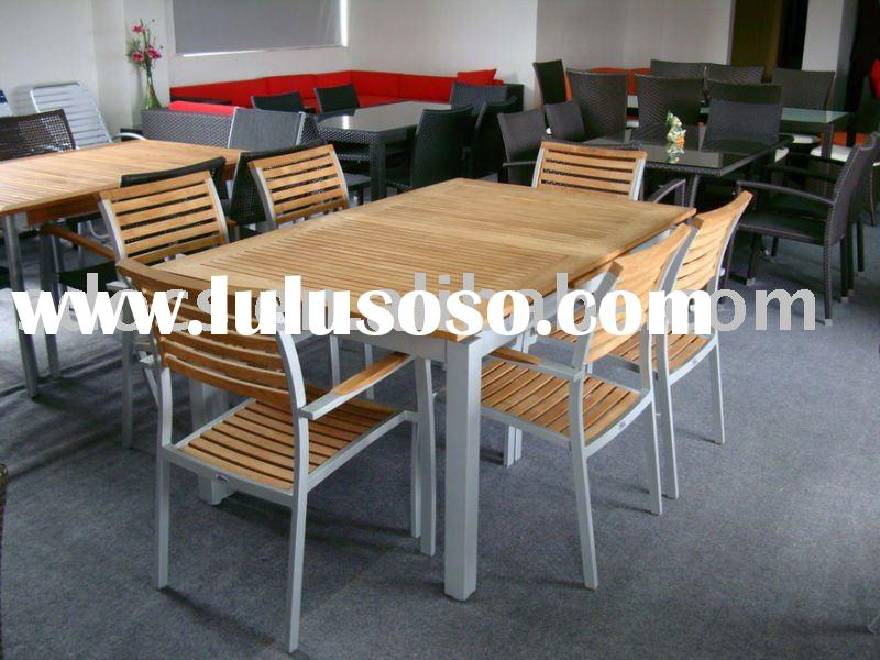teak dining table&chairs