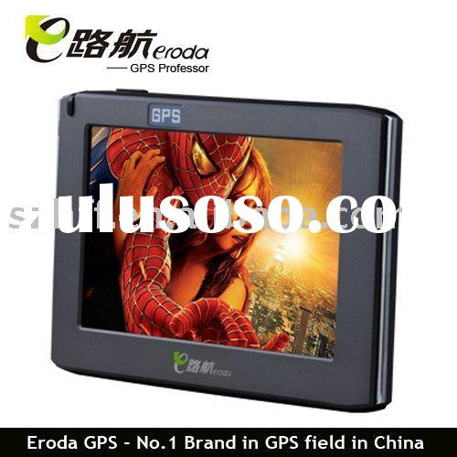 travel tool ---4.3 inch TFT touch screen car GPS navigator