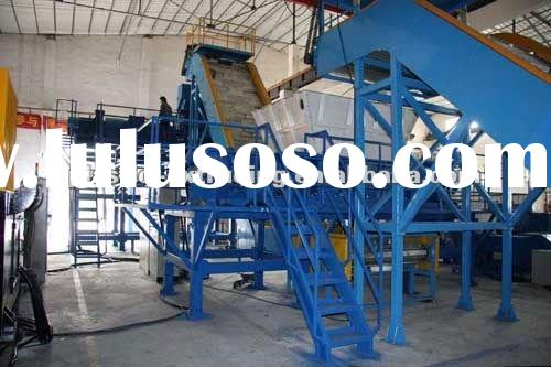 used tyre recycling machine for making rubber powder