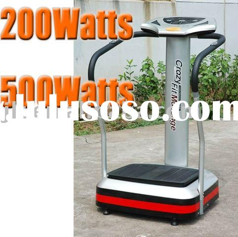 vibration machine crazy fit massage vibro plate vibration plate crazy fit crazy fitness CE ROHS craz