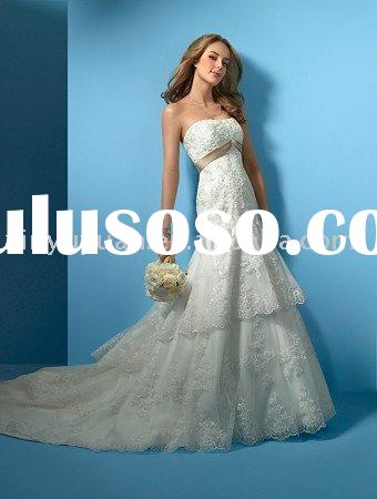 vintage and boutique mermaid style lace wedding dresses AAW-072