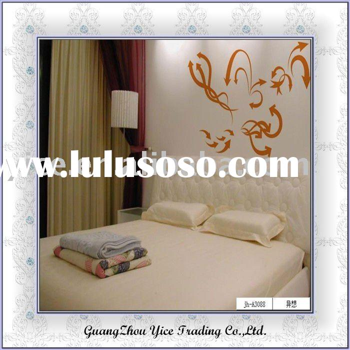 vinyl wall stickers/mirror decorative wall sticker