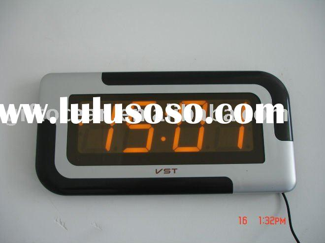 wall&desk dual purpose LED Large Display Digital clock