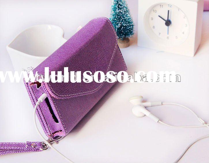 wallet style leather case for iphone 4/4s