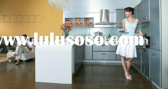 waterproof and poplar custom made solid wood kitchen cabinets