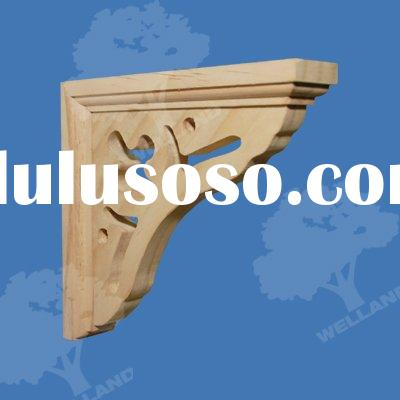 wood brackets, wooden brackets,shelf brackets