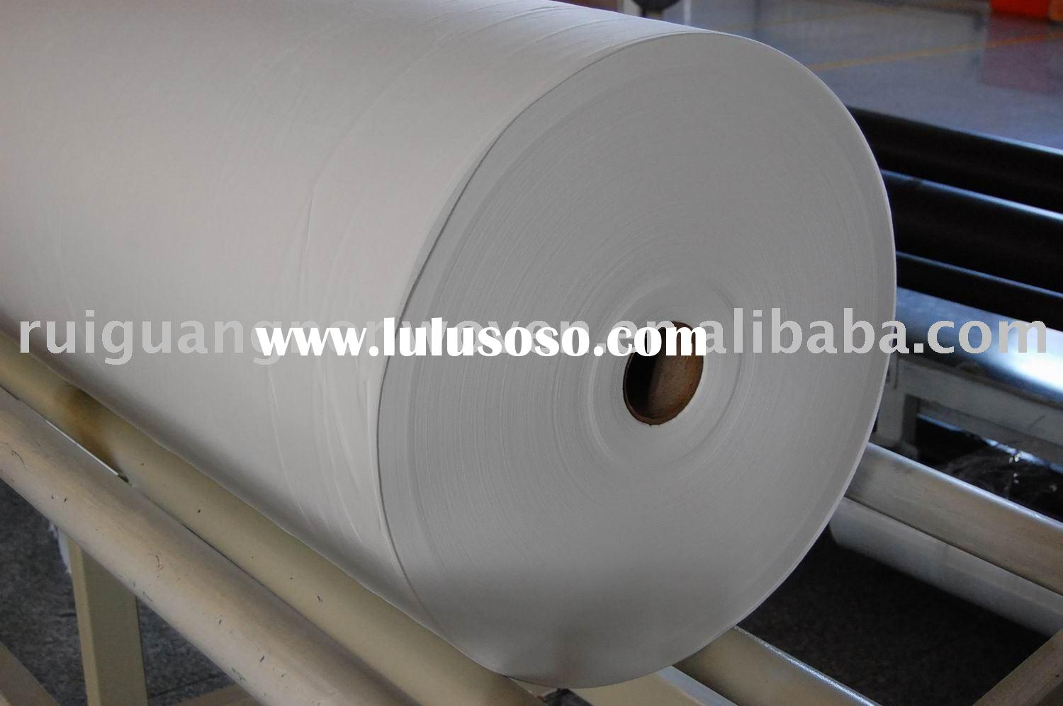 wood pulp paper laminated composite spunlace nonwoven fabric