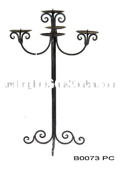 wrought iron candle holder craft