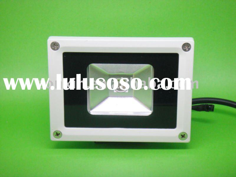 10W RGB DC:12V/24V LED Flood Light RGB LED Spotlight with IR remote controller