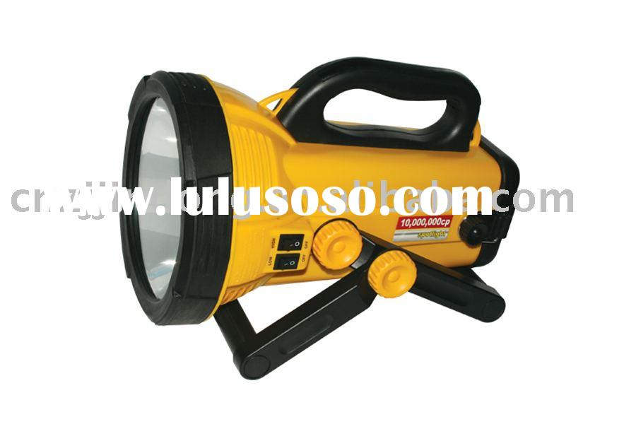 10 MIL CP Handheld rechargeable spotlight 100/90W