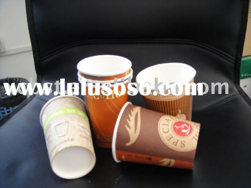 10oz take away disposable paper coffee cup