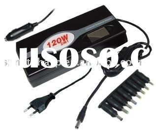 120W ac/dc universal notebook travel charger