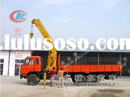 12TON knuckle boom truck crane for sale