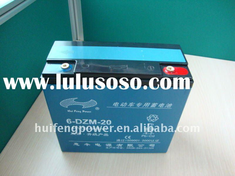 12v 20ah sealed valve-control rechargeable lead acid battery
