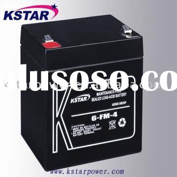 12v 4ah sla battery ups battery power supply (6-FM-4)