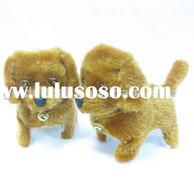 13x15cm battery operated walking dog