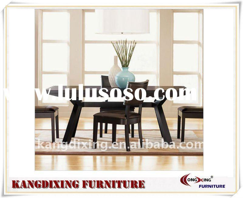1500mm Solid Wood Rectangular Dining Table Set