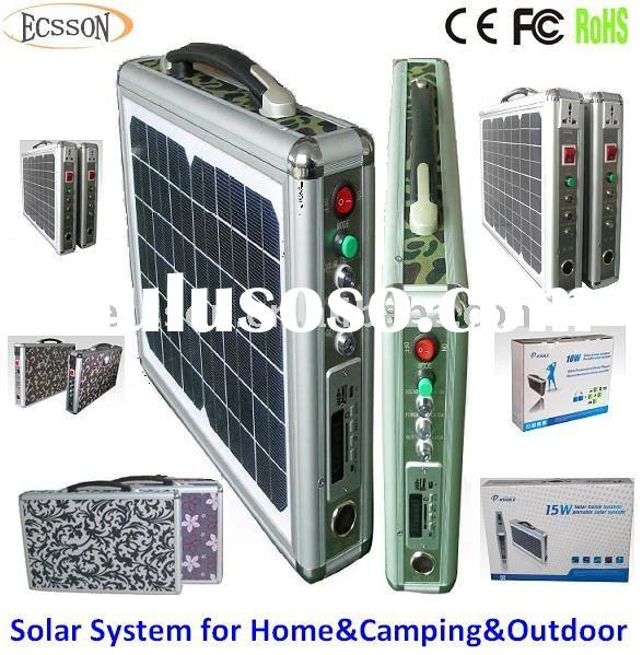 15W New portable solar air conditioner split system